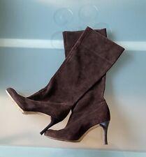 Antonio Melani Sandra Brown Suede Boots Womens Size 7