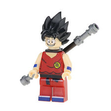 Dragonball Dragon Ball Z Anime Kid Goku Custom Minifigures Mini Figure fits lego