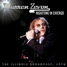 Nighttime in Chicago Warren Zevon Audio CD