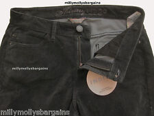 New Marks and Spencer Black Skinny Trousers Size 12 Short LABEL FAULT & DEFECT