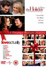 DVD:THE HOLIDAY & LOVE ACTUALLY - NEW Region 2 UK