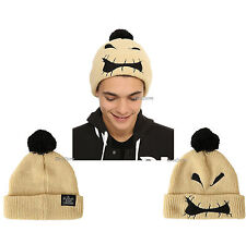 NEW Disney The Nightmare Before Christmas Oogie Boogie Unisex Pom beanie cap hat