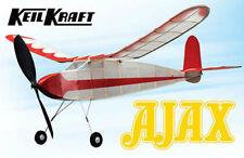 "Keil Kraft KK2010 Ajax 30"" wingspan Rubber Powered Duration Balsa Model Courier"