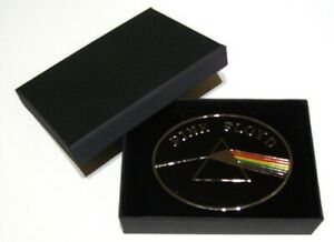 PINK FLOYD (darkside) removable buckle & GIFT BOX - fits 38mm wide leather belt