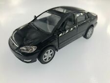 "5"" Kinsmart Toyota Corolla Diecast Model Toy Car 1:36 Black"