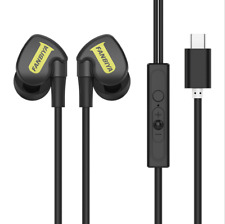 Earphone Type-C In-Ear USB-C Earphone Wired Control With MIC For Oneplus Huawei