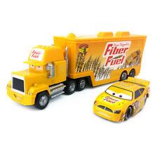 Disney Pixar Car No.56 Mack Racer's Truck & Fiber Fuel Toys Model Car 1:55 Loose