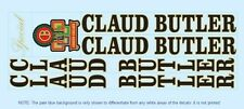 Claud Butler Bicycle Decals-Transfers-Stickers #4
