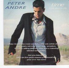 (EA692) Peter Andre, Time 5 track sampler - 1997 DJ CD