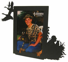 Goose hunting black metal 5x7V picture frame