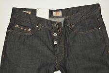 Nuevo-Hugo Boss-w31 l34-Orange 25-Pure Denim-regular Jeans - 31/34 3a
