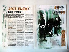 COUPURE DE PRESSE-CLIPPING :  ARCH ENEMY [2pages] 2004 Michael Amott,Dead Eyes..