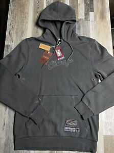 NEW Mitchell & Ness Chicago Bulls Washed Out Pullover Hoodie Men's Sz LARGE $100