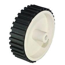 Wheel DC gear motor (6mm shaft) -Dia 70mm, width 20mm - 2 Pieces CODE: TD-WHGH01