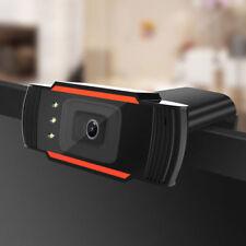 USB 12 Megapixel HD Camera Web Cam MIC Clip-on Night Vision für PC Laptop Neu