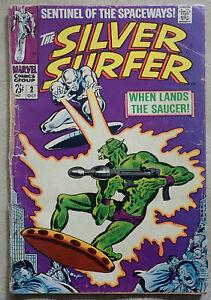 Silver Surfer 2 (1968 series), Marvel comics