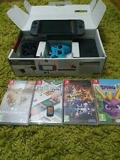 Nintendo Switch v2grey bundle 5 games extra controller Excellent condition🌟🌟🌟