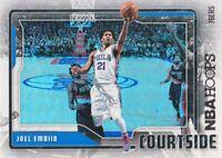 2017-18 NBA Hoops Basketball Courtside #CS-3 Joel Embiid Philadelphia 76ers