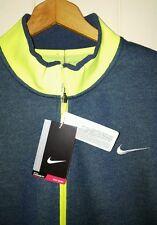Nike Golf Flyknit Full Zip Sweater Jacket Mens Medium NWT $170.00 Heather Navy