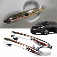 OEM Genuine Chrome Extrior Front Door Catch Handle 2P for KIA 2015-2018 Sedona