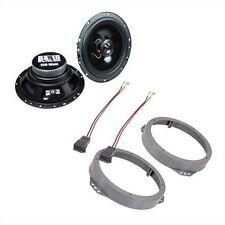 Carhifi Lautsprecher für Opel Calibra 165mm inkl. Aufnahme + Adapterkabel vorne