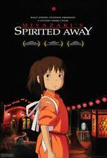 Spirited Away - original DS movie poster  D/S 27x40 Studio Ghibli - Miyazaki