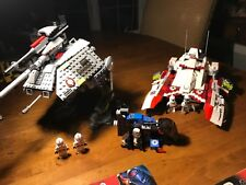Lego Star Wars AT-TP 7671, Republic Fighter Tank 7679, Imperial Drop Ship 7667
