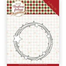 Precious Marieke Stanzschablone Kreis mit Sternen Star Circle Pm10161