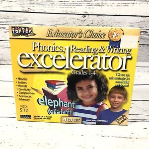 Software PC Phonics Excelerator by Topics NEW SEALED Ages 5-10 Grades 1-4