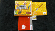 NEW SUPER MARIO BROS.2 NINTENDO 3DS PLATFORM V.G.C. FAST POST COMPLETE