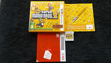 New Super Mario Bros 2 NINTENDO 3 DS Plateforme V.G.C. FAST POST complet