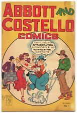 Abbott & Costello Comics #1 (1948 St. John Publishing) $49 Auction Start NR