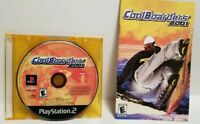 CoolBoarders 2001 PS2 Game disc.manual & jewel case Tested & guaranteed