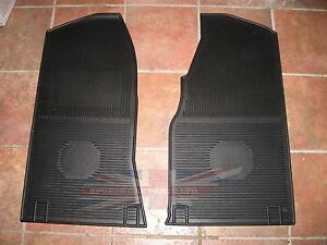 New Set of Amco Style Rubber Floor Mats MGB 1963-1967