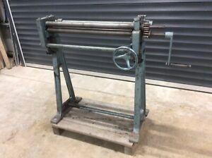 sheet metal slip roller
