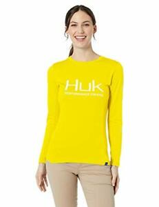 HUK Ladies Icon Long Sleeve Performance Shirt--Pick Color/Size-Free Shipping