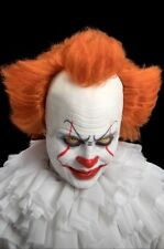 IT ORANGE WIG EVIL SCARY CLOWN LATEX FOREHEAD UK SELLER 🇬🇧 PENNYWISE COSTUME