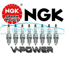 8 NGK V-POWER SPARK PLUGS for JAGUAR S-TYPE LAND ROVER DISCOVERY LEXUS TOYOTA