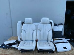 BMW 650I 640I M6 INDIVIDUAL SEAT SEATS INTERIOR FRONT AND REAR OEM F06 (13-16)