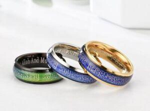Islamic Shahada Ring For Men Women Jewellery Gift