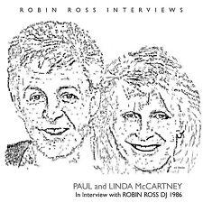 PAUL & LINDA McCARTNEY New 2017 UNRELEASED PRESS TO PLAY ERA INTERVIEWS CD