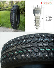 100pcs 9mm Screw in tire Stud Snow Spikes Wheel Tyres Chains for Car ATV Truck