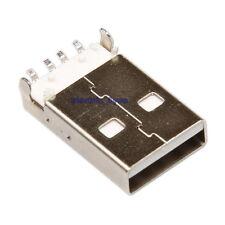 USB Type A mâle a Souder SMD SMT Connecteur Assemblage Fiche