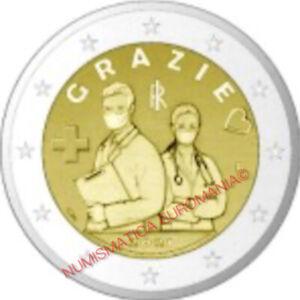 2 EURO ITALIA 2021 - PROFESSIONI SANITARIE FDC - MONETA UFFICIALE