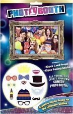 12 x Photo Booth Selfie Props Photo Posing Sticks Adults Party Birthday