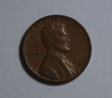 One Cent United States of America Coin 1963 Münze TOP! (F1)