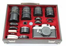Leica Leicaflex, vintage 35mm SLR camera with 7x Leitz lens and extra's