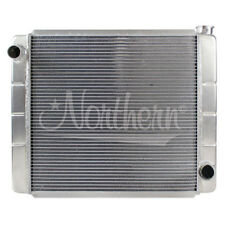 Northern 209679 24 X 19 GM Chevy Style Universal 2-Row Aluminum Radiator RacePro