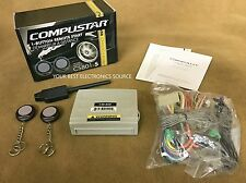 NEW Compustar CS801S 1-Way Remote Start System w/ Keyless Entry  CS801-S