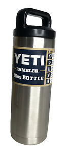 Yeti Rambler 18 oz Double Wall Vacuum Insulated Stainless Steel Bottle NEW